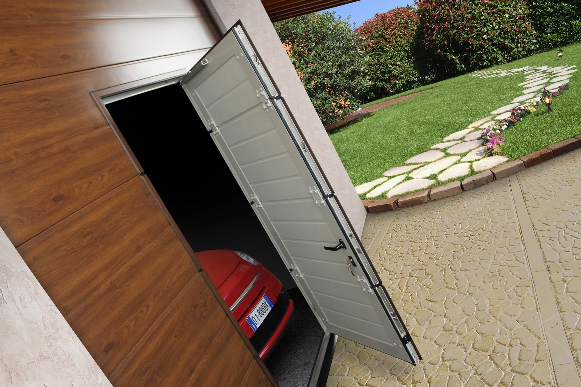 La sicurezza breda porte per garage milano - Porta garage sezionale prezzi ...