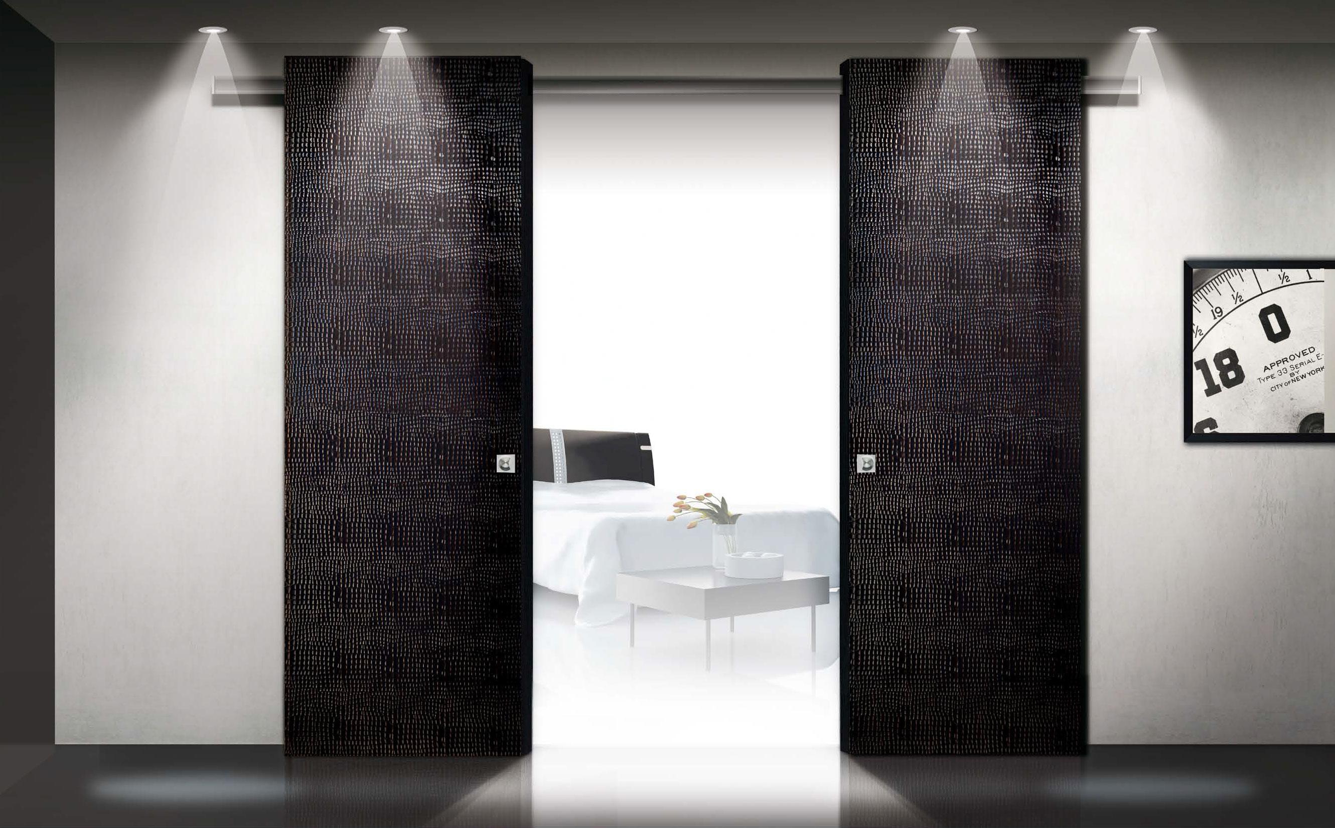 Porte scorrevoli - Porte scorrevoli vetro esterno muro ...