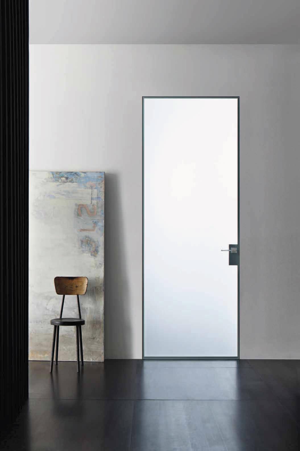Porte in vetro: luce, design ed eleganza