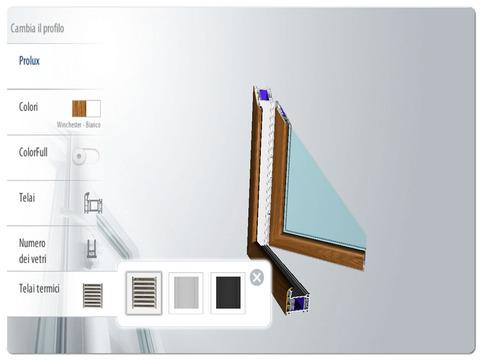 Una app per scegliere le vostre finestre pvc oknoplast for Offerta finestre pvc