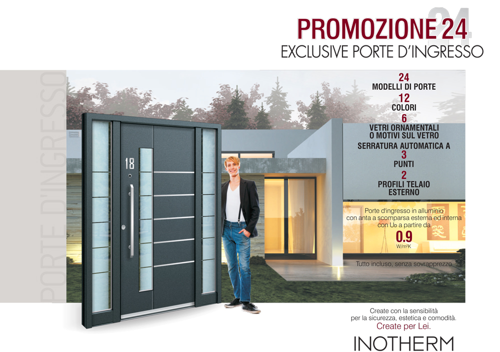 Porte ingresso prezzi scontati: Inotherm Promozione 24