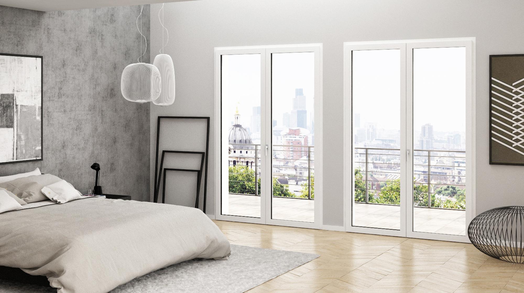 Un altro nuovo splendido infisso pvc oknoplast squareline for Infissi balcone