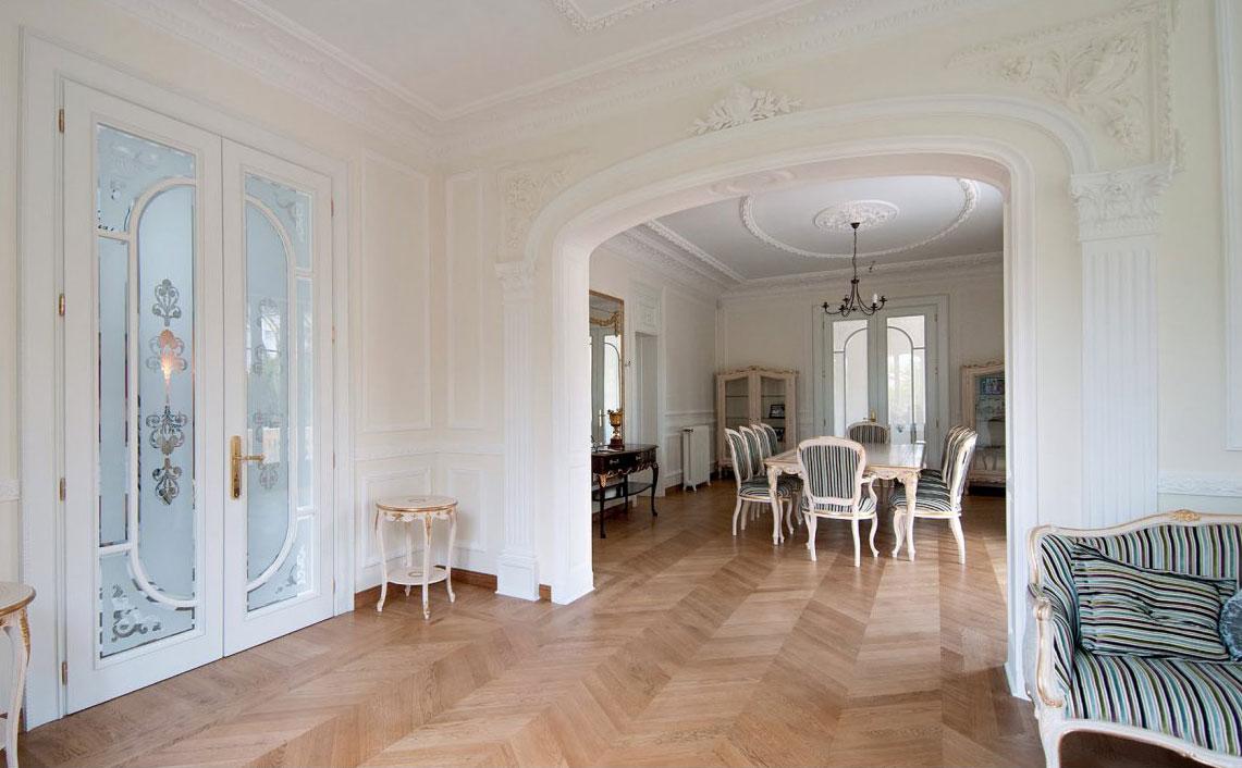 Porte interne classiche legno artigianali atelier - Laccatura porte interne ...