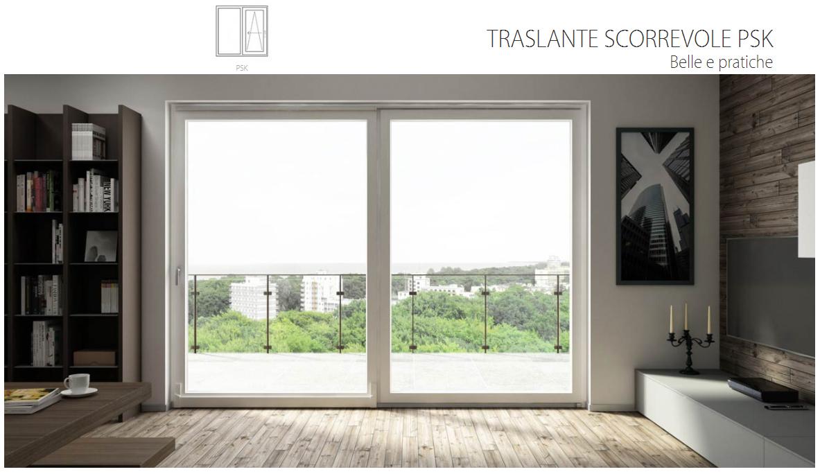 Porta finestra alzante scorrevole oknoplast le - Porta finestra scorrevole ...