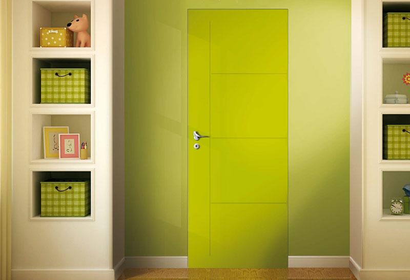 Porte colorate: effetti nell\'abitazione