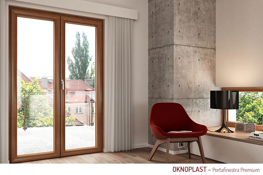 Porta finestra pvc oknoplast - Costo porta finestra pvc ...