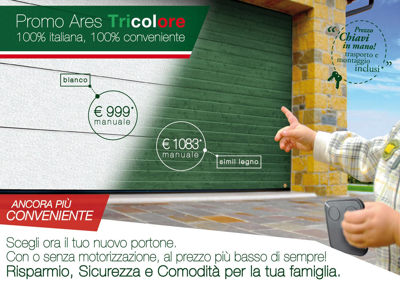 Promozioni su serramenti a milano - Portone sezionale laterale prezzi ...