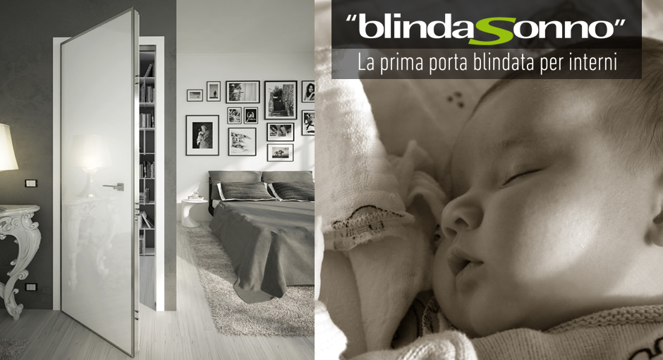 Blindasonno Di Okey Porte Blindate La Prima Porta Blindata Per Interni
