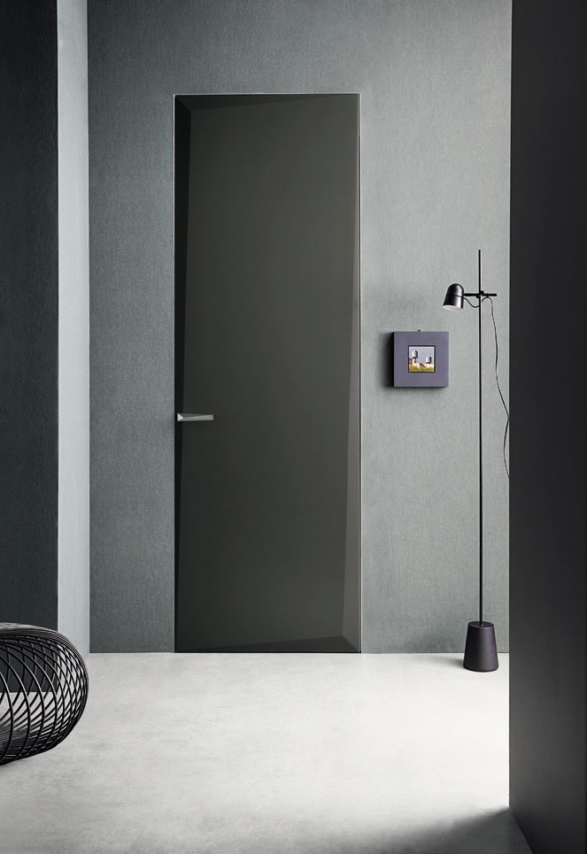 Collezione di porte lualdi edges marco piva design - Porte lualdi rasomuro ...
