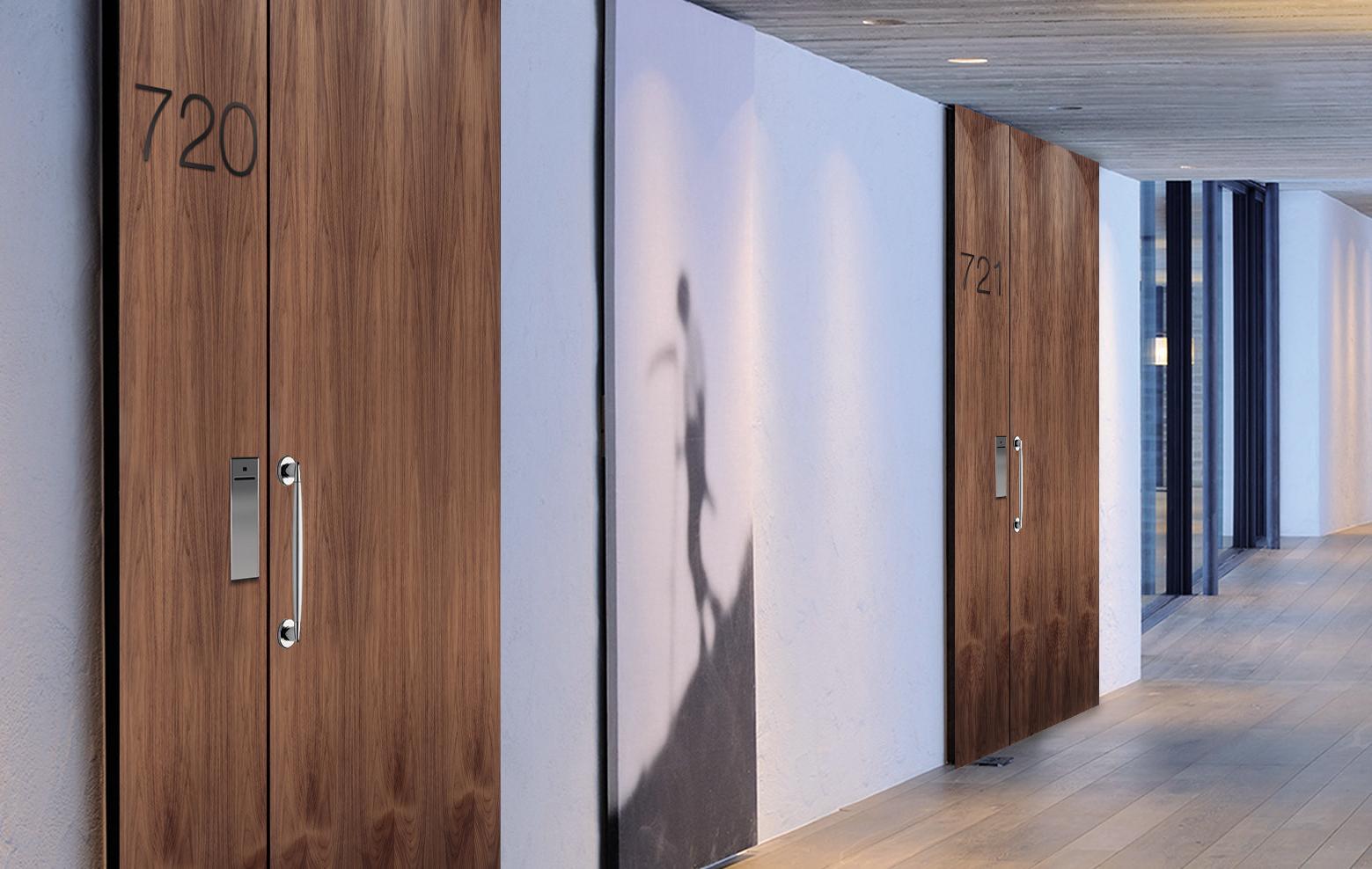 Le porte da interni agoprofil per il settore ricettivo collezione guest - Porte da interni ...